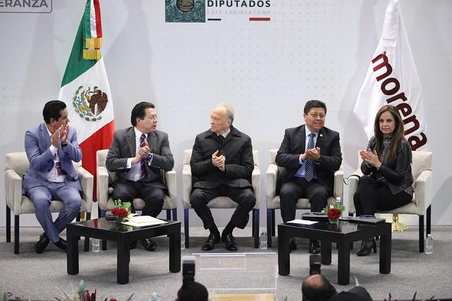 29/01/2020  Plenaria Grupo Parlamentaria Morena. Encuentro con el Fiscal General de la República, Alejandro Gertz Manero