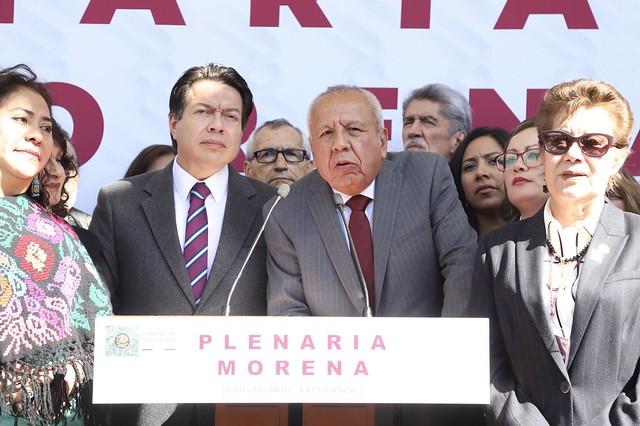 29/01/2020 Conferencia de Prensa GP Morena con Dr. Francisco Garduño Yáñez, Comisionado del Instituto Nacional de Migración.