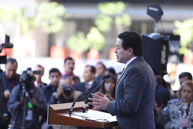 29/01/2020 Coferencia de Prensa Dip. Mario Delgado Carrilo