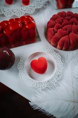 Heart cookie valentine decoration