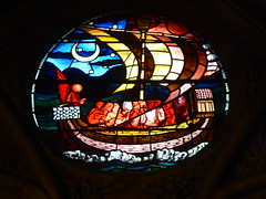 Oxford Cathedral - St Frideswide Window