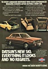 1978 Datsun 510 (Canadian Ad)