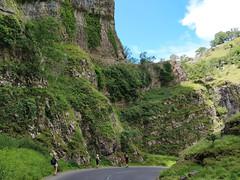 Wandering through Cheddar Gorge