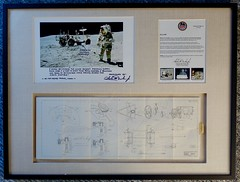 Apollo 16 Rover Steering System Diagram — From the Lunar Surface
