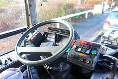 Au Local / Poste de conduite : Renault Agora Line Ex-STRAV n°395