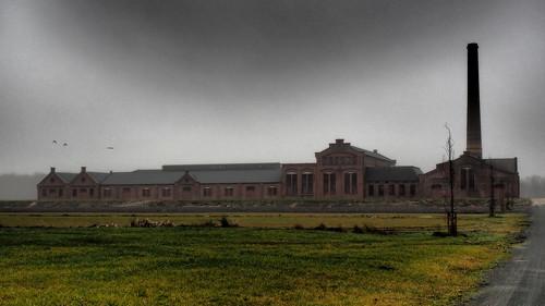 Strohkarton-Fabrik