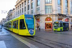 CITURA / Alstom Citadis 302 n°115 et Bolloré Bluebus 22 n°89