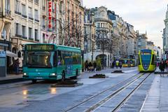 CITURA / Irisbus Agora S n°232 et Alstom Citadis 302 n°115