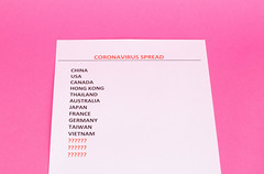 List of Coronavirus spread