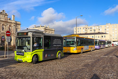 CITURA / Bolloré Bluebus 22 n°89, Irisbus Citelis 12 n°275, Heuliez GX 327 n°325, Heuliez GX 327 n°301