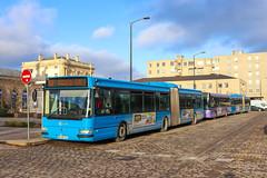 CITURA / Irisbus Agora L n°821, Heuliez GX 327 n°325 et Renault Agora L n°815