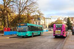 CITURA / Irisbus Agora S n°245 et Heuliez GX 137L n°538