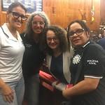 Deputada Luciana Genro (PSOL) apoiando a luta da Polícia Civil