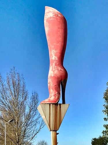 La bota rosa