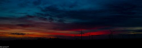 Tonights (05/02/2020 Sunset looking from the A7 over Den Oever Nrtherlands ..