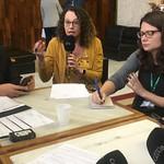 Deputada Luciana Genro (PSOL) participa do programa Esfera Pública, da Rádio Guaíba
