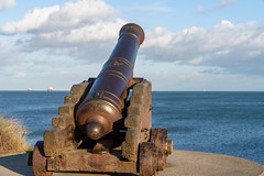 CANNON FROM THE CRIMEAN WAR [LOCATED AT THE EAST PIER IN DUN LAOGHAIRE]-159931