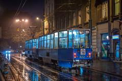 Stary Kleparz in the rain