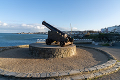 CANNON FROM THE CRIMEAN WAR [LOCATED AT THE EAST PIER IN DUN LAOGHAIRE]-159933