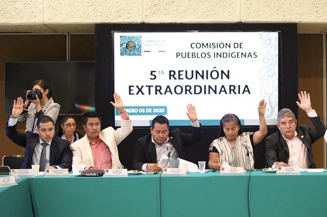 05/02/2020 Comisión de Pueblos Indígenas