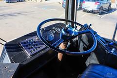 P'ti Plato / Poste de conduite : Leyland Atlantean Ex-MBR 458T