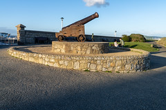 CANNON FROM THE CRIMEAN WAR [LOCATED AT THE EAST PIER IN DUN LAOGHAIRE]-159930