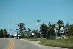 AL219 South at AL382 East Signs