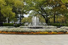 The Peace Memorial Park has tried to create a more pleasant atmosphere