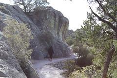 Walking on Echo Canyon Trail