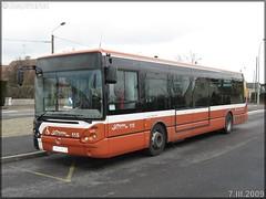 Irisbus Citélis 12 – Setram (Société d'Économie Mixte des TRansports en commun de l'Agglomération Mancelle) n°115