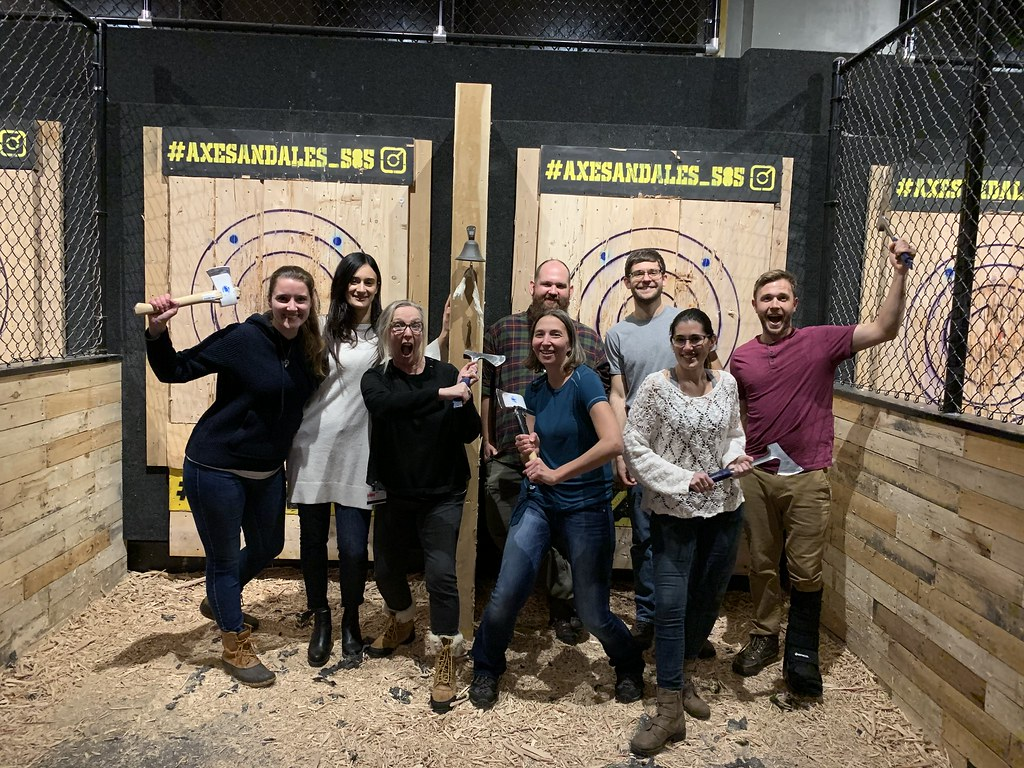 Holiday 2019 Axe Throwing