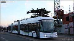 Hess LighTram 25 Tosa – Semitan (Société d'Économie MIxte des Transports en commun de l'Agglomération Nantaise) / TAN (Transports en commun de l'Agglomération Nantaise) n°201
