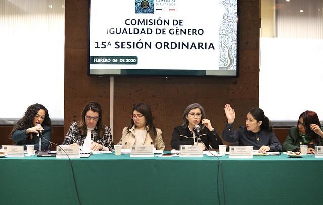 06/02/2020 Comisión de Igualdad de Género