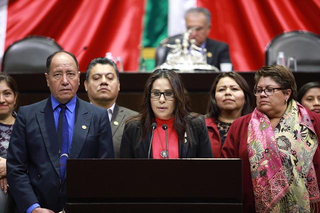 06/02/2020 Tribuna Dip. Marta Olivia García Vidaña