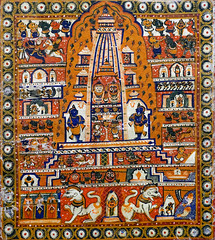 Le temple de Jagannath à Puri (musée Guimet, MNAAG, Paris)