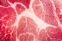Close-up of jerky pork meat