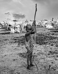 Mundari Cattle Boy