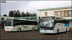 Mercedes-Benz Tourismo – Autocars Planche (Keolis) / Auvergne-Rhône-Alpes n°584 & Iveco Bus Crossway – Mobilités Bourgogne-Franche-Comté / Mobigo