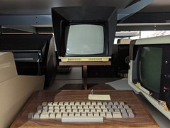 PLATO 2, secret hardware archive, Computer History Museum, Mountain View, California, USA
