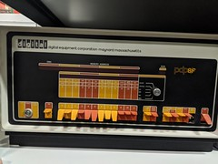 PDP8f, secret hardware archive, Computer History Museum, Mountain View, California, USA