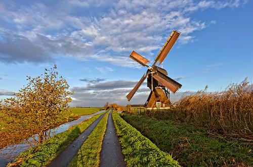 The Broekse windmill in full speed