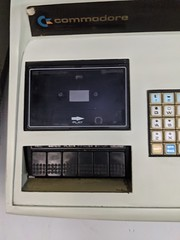 Prototype PET tape-drive, secret hardware archive, Computer History Museum, Mountain View, California, USA