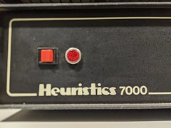 Heuristics 7000, secret hardware archive, Computer History Museum, Mountain View, California, USA