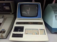 Original prototype PET, secret hardware archive, Computer History Museum, Mountain View, California, USA