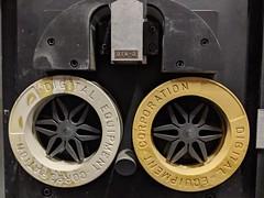 DEC tape drive 1, secret hardware archive, Computer History Museum, Mountain View, California, USA