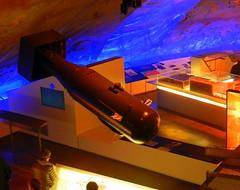 """""""Little Boy"""" atomic bomb replica, La Coupole, Helfaut-Wizernes, Pas-de-Calais, France."""