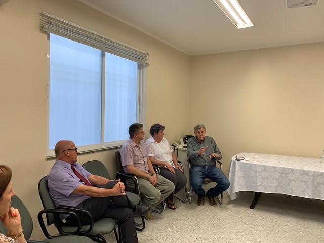 07/02/2020 Reunião com Hospital Nossa Senhora da Oliveira - Vacaria
