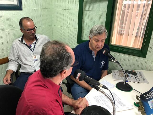 07/02/2020 Entrevista para rádio Marabá de Iraí