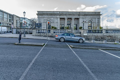 THE ORIGINAL ENTRANCE TO DUN LAOGHAIRE TRAIN STATION [DESIGNED BY JOHN SKIPTON MULVANY]-159999