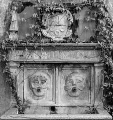 Twin Faced Fountain